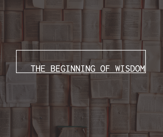Beginning of Wisdom button