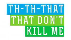 That That Don't Kill Me sermon art