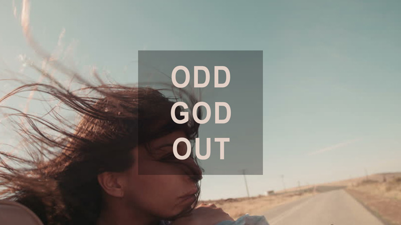 Odd God Out sermon series art