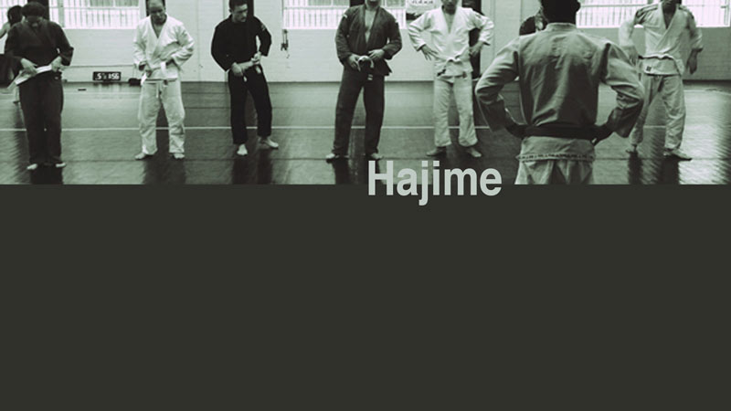 Hajime sermon art