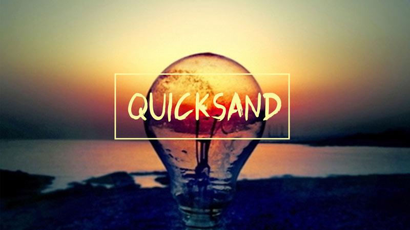 Quicksand sermon art
