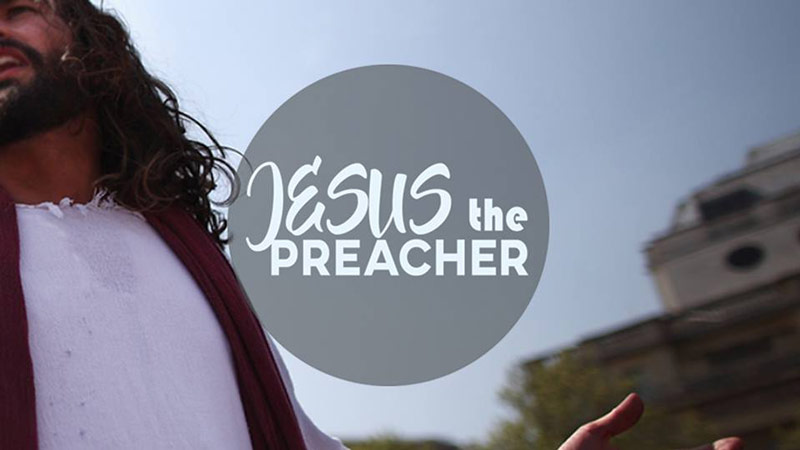 Jesus the Preacher sermon art