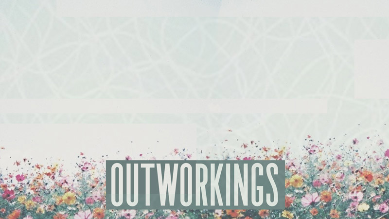 Outworkings sermon art